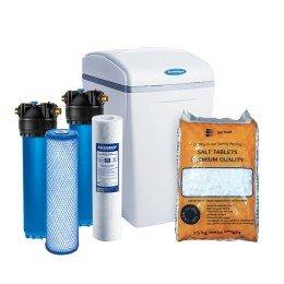 Умягчитель Аквафор WaterBoss 700 + Гросс 2 шт. + Таблетированная соль